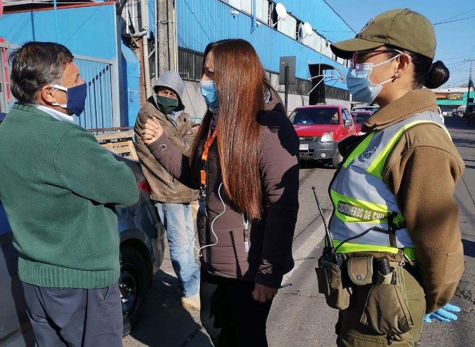 Reporte de multas municipales por no uso de mascarillas en Los Ángeles