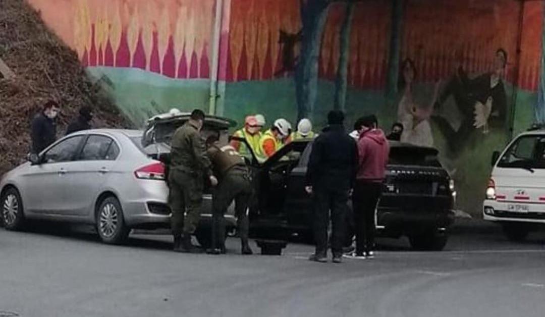 Impactantes videos del operativo que recuperó el auto de Karen Paola: Incluye choque de patrulla