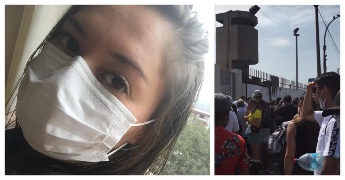 Joven angelina ha vivido una pesadilla en Lima sin poder regresar: «Estamos sufriendo»