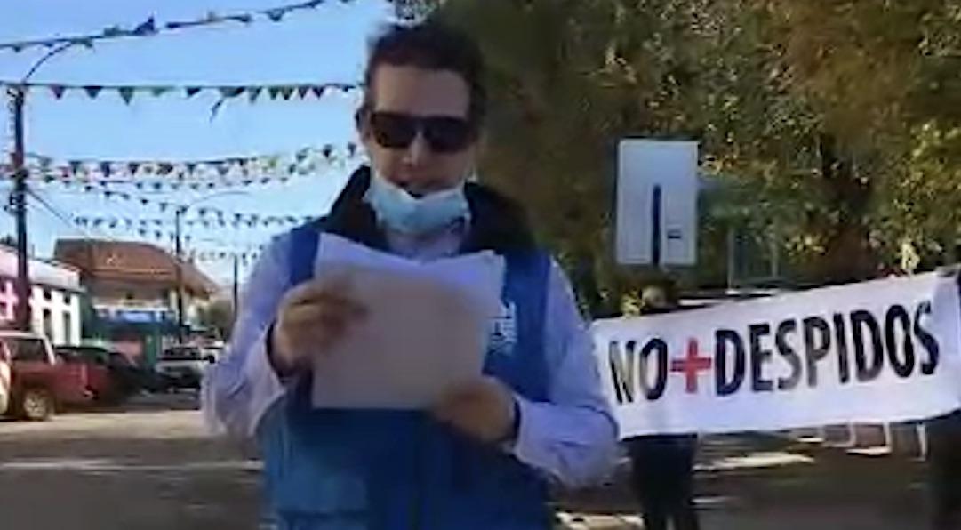 Funcionario demanda al municipio de Mulchén por despido en medio de la pandemia