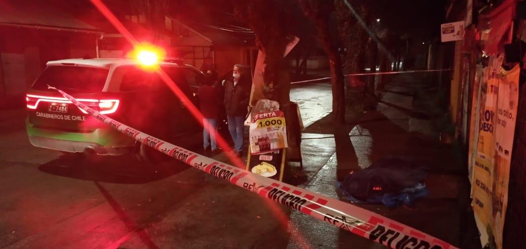 Hombre fue asesinado en plena vía pública de Los Ángeles