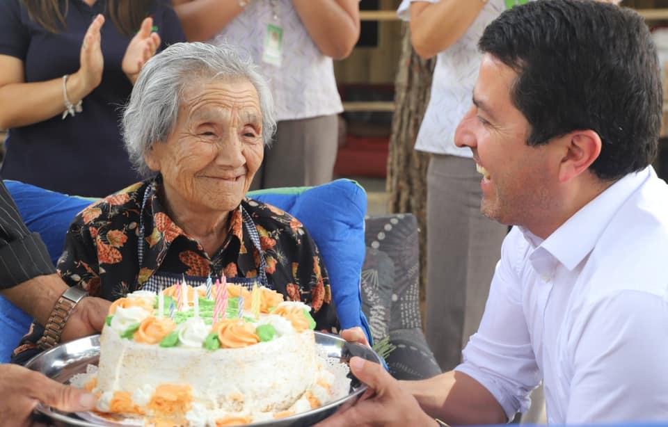 En Cabrero muere la mujer más longeva del país a los 112 años