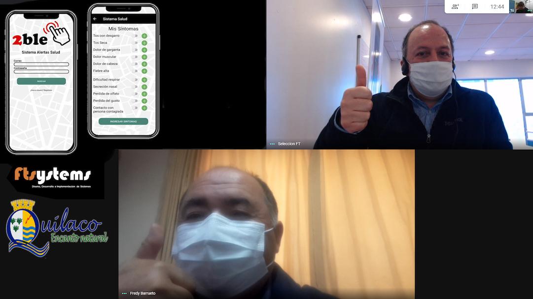 Quilaco incorpora tecnología para dispositivos móviles en su combate al Coronavirus