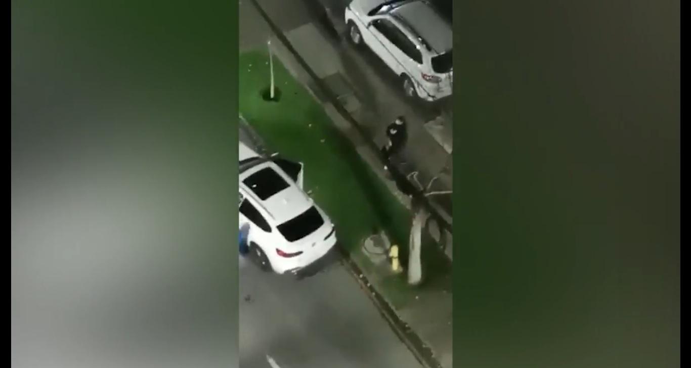 Cayó desde un piso 6: estaba robando departamento