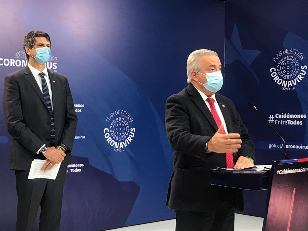 Reporte de Mañalich: Chile lleva 2.264 fallecidos y 1.581 están en la UCI