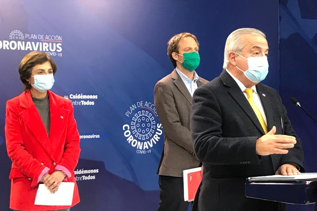 Reportan a 354 pacientes en estado crítico y 81 nuevos fallecidos en Chile
