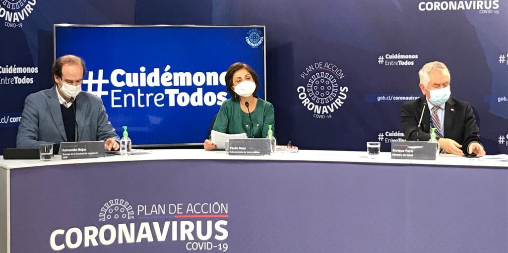 Chile reportó este jueves 225 muertos por Covid: Ya acumulan 3.841