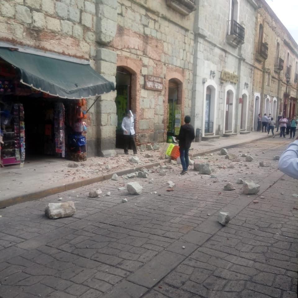 Terremoto de 7,5 Richter afectó a Ciudad de México y activan alerta de tsunami