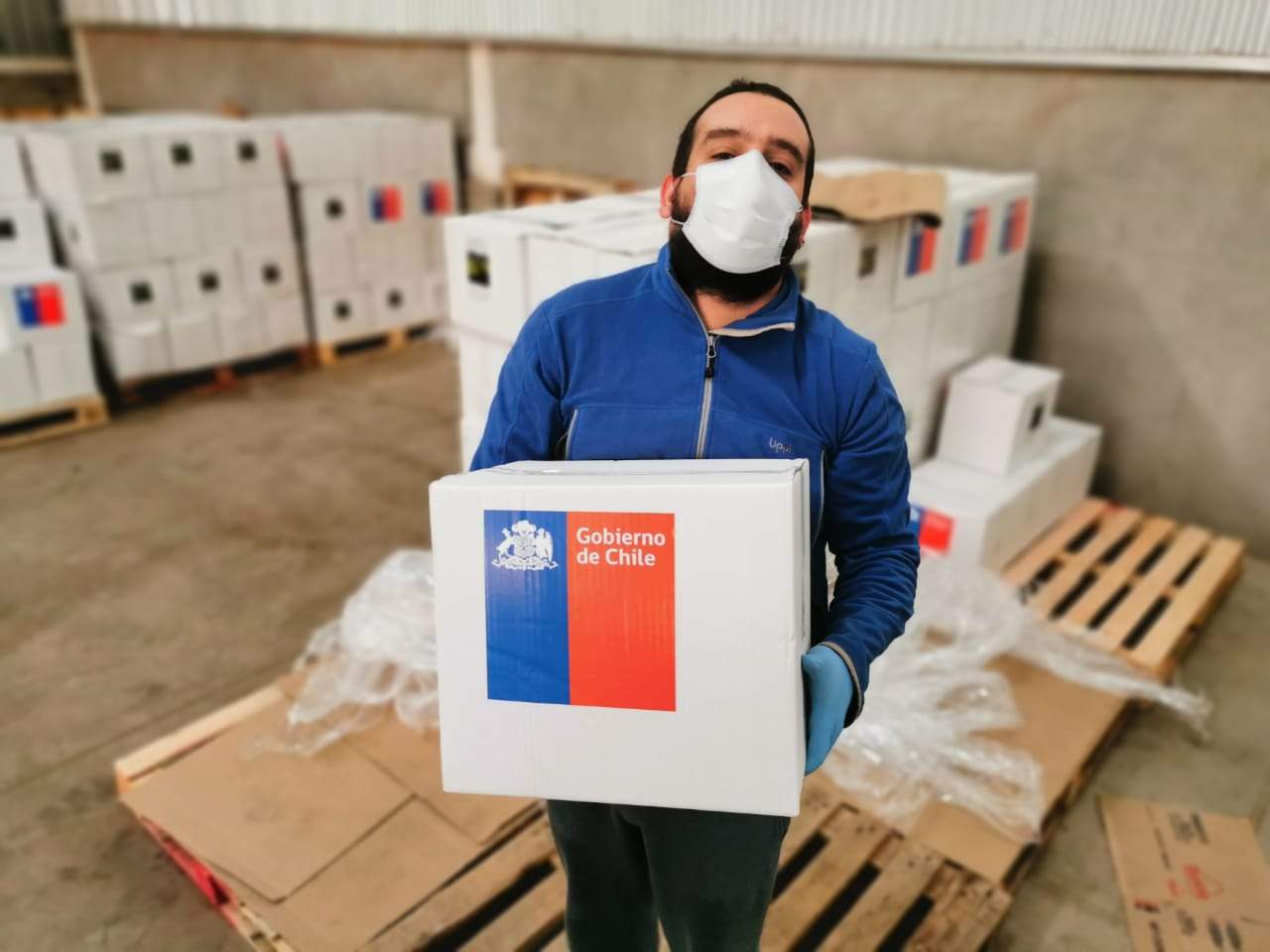 Más de 14 mil nuevas cajas de alimentos se repartirán en la provincia de Biobío
