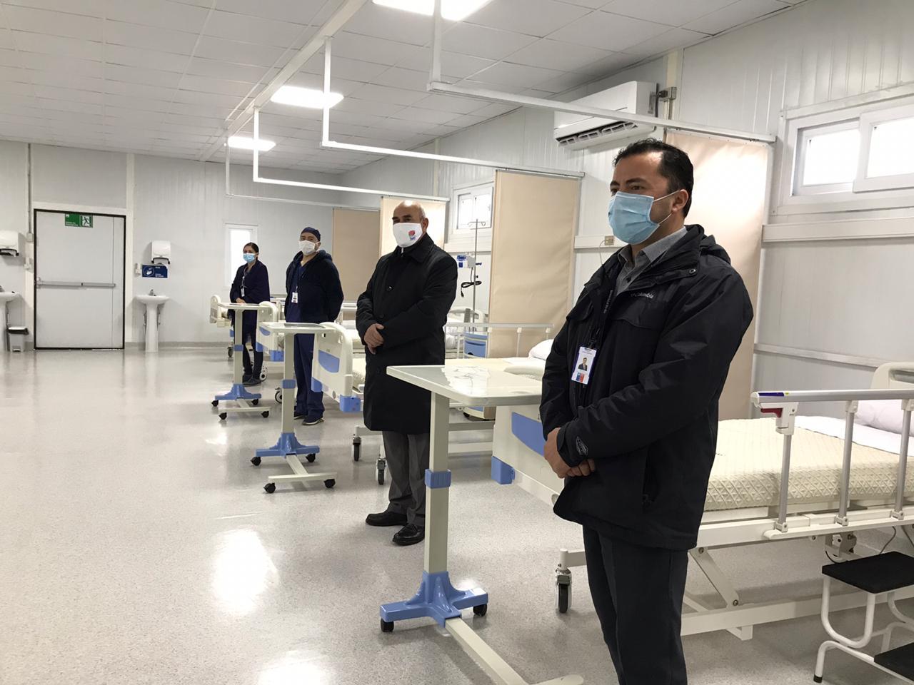 Inauguran las nuevas dependencias del Hospital de Yumbel