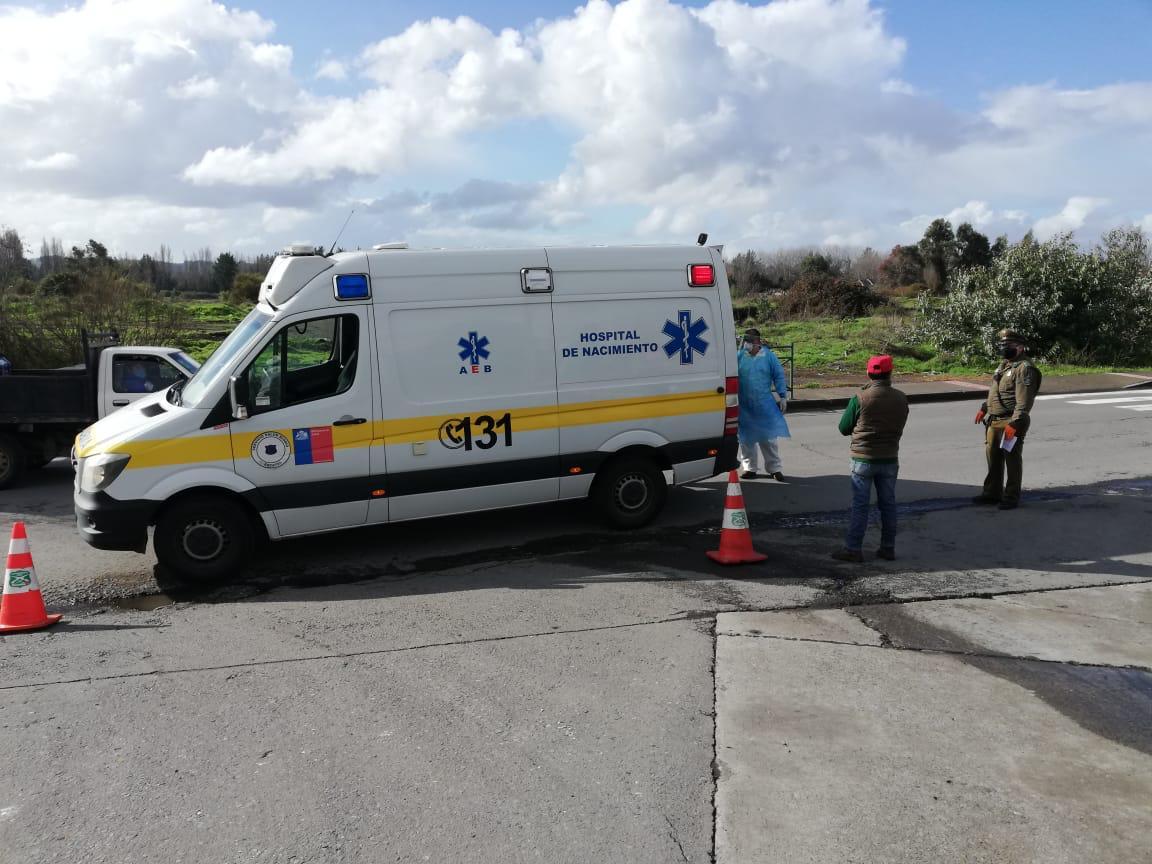 No hay caso: Paciente con Covid caminaba por las calles de Nacimiento