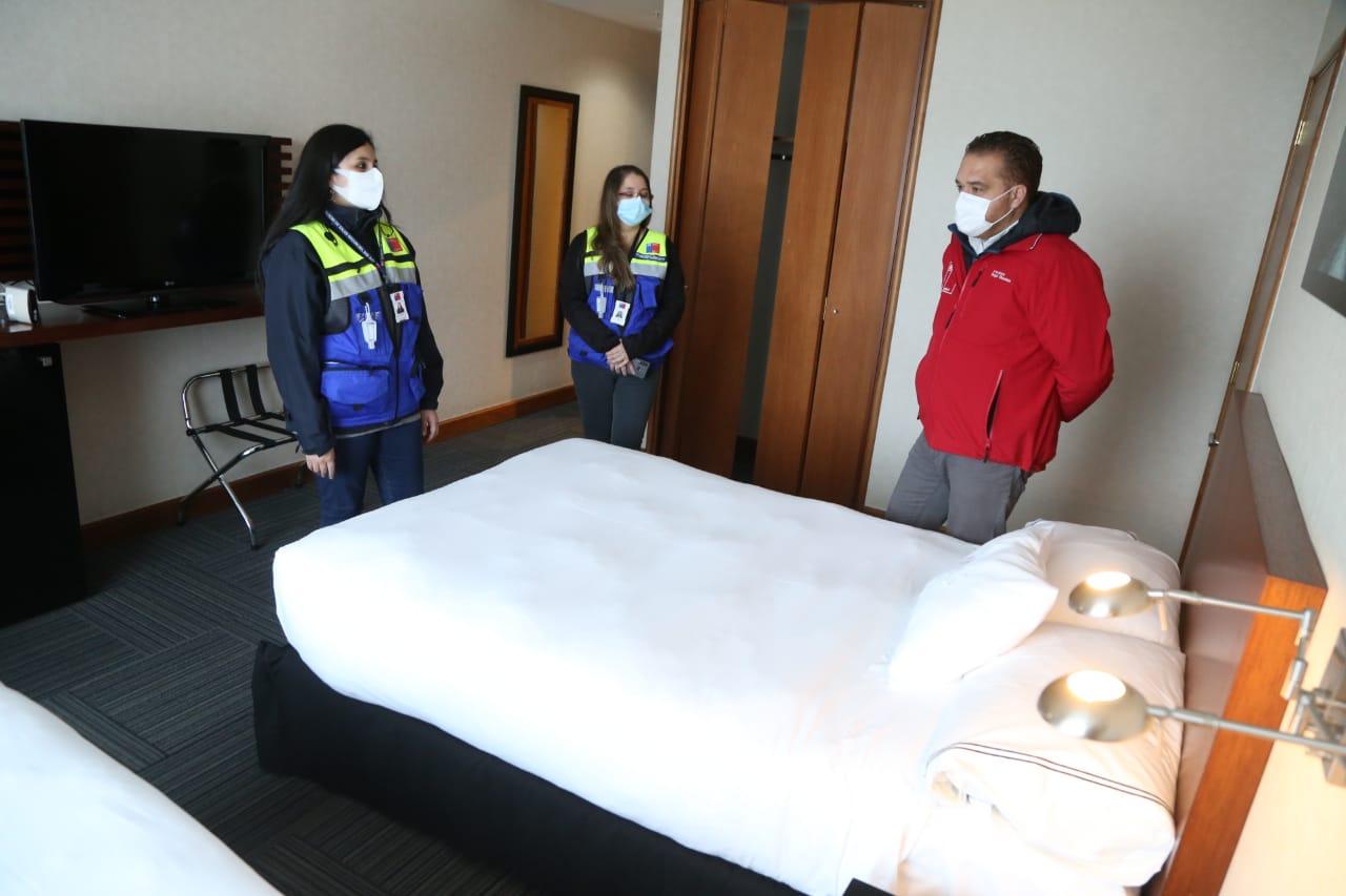 Habilitan Hotel del Casino Marina del Sol en Talcahuano como Residencia Sanitaria