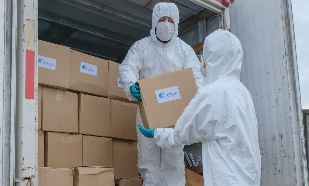 JJ.VV, comercio local y Colbún llegarán con alimentos a 1.500 familias del Biobío