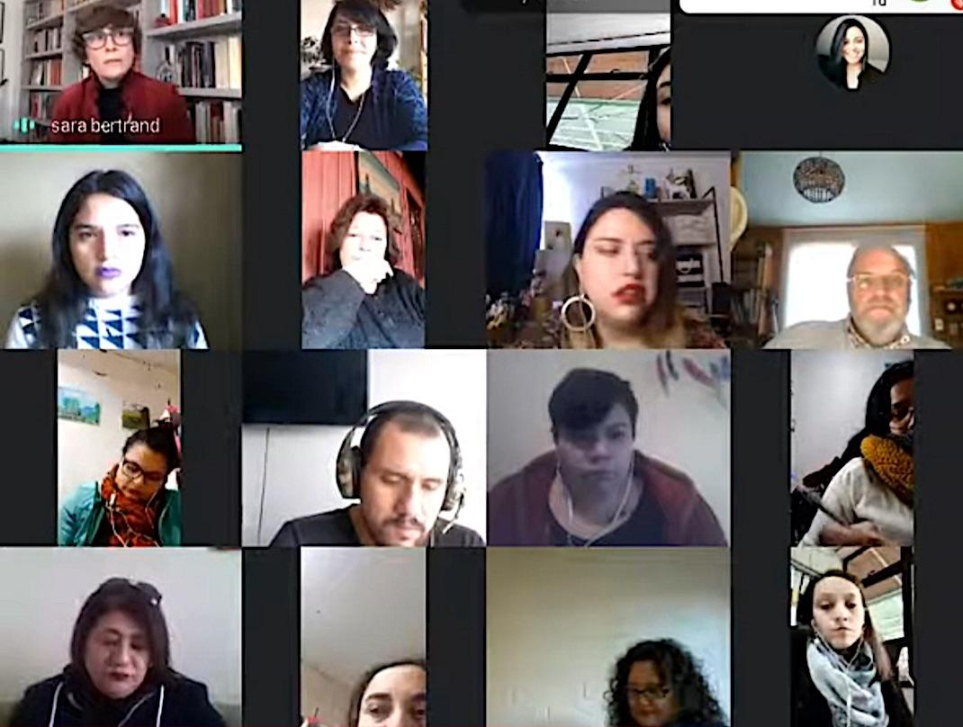 I Encuentro de Fomento Lector de la Provincia de Biobío en formato virtual