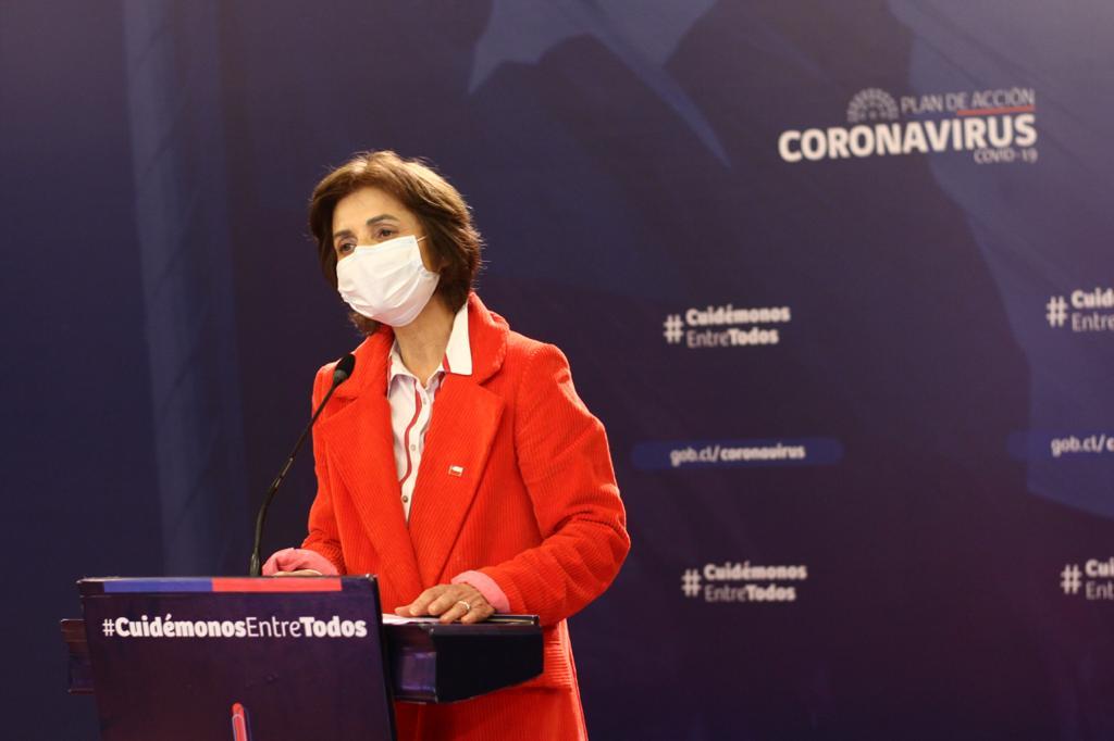 Paula Daza reaparece tras cuarentena e informó 231 nuevos muertos por Covid-19