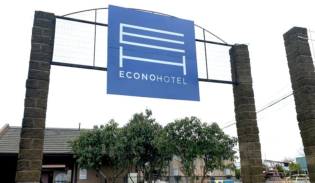Habilitan Econo Hotel como residencia sanitaria en Los Ángeles y recibe 4 pacientes