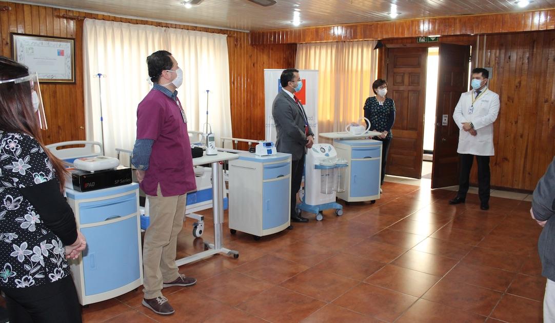 Más de 1.400 millones en equipamiento Covid-19 ha recibido la provincia de Biobío