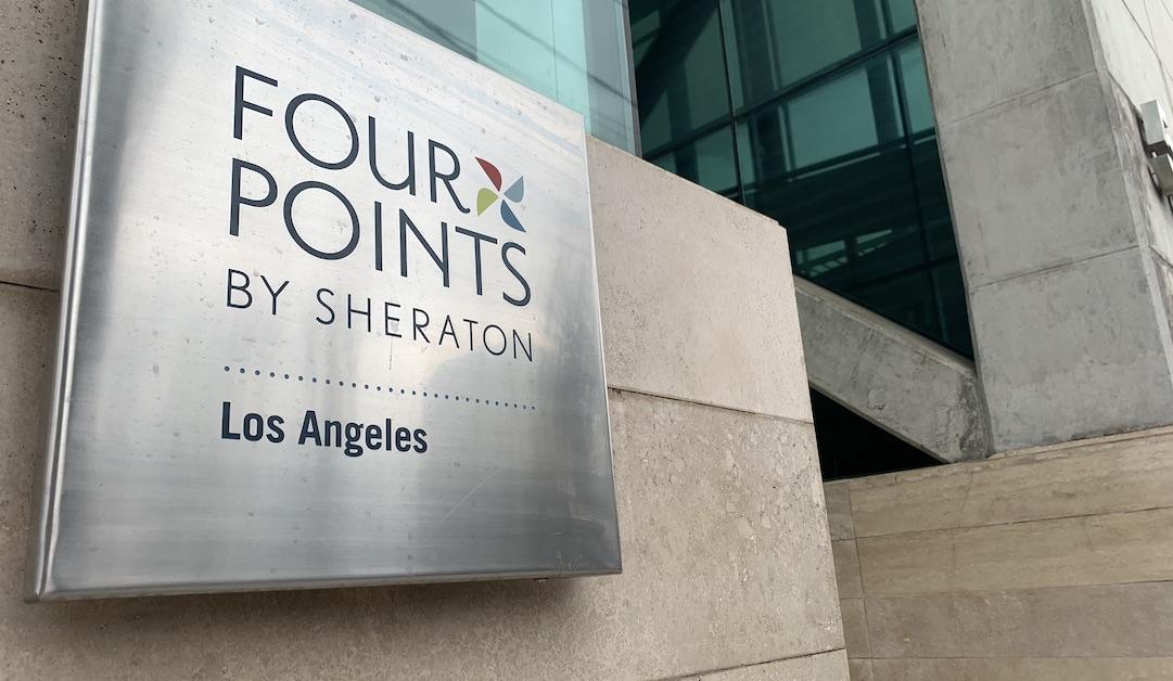 Hotel Four Points y Diego de Almagro podrían ser residencias sanitarias en Los Ángeles