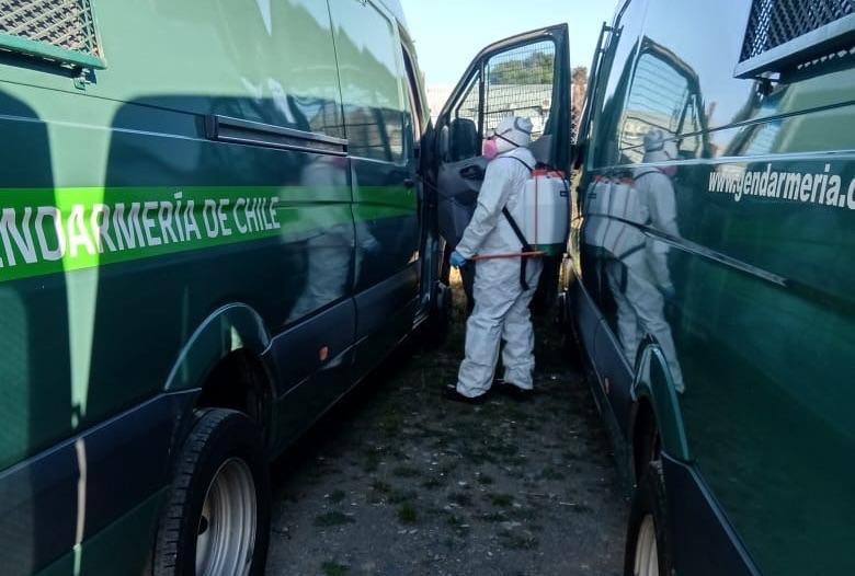 Gendarmería inicia sumario y habla de «nuevo contagio» por funcionario que se enfrentó a Carabineros