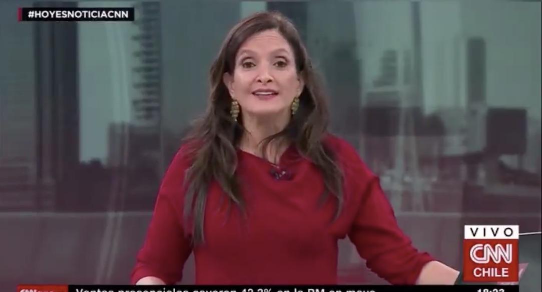 Matilde Burgos y su chascarro en CNN: «¿hablé mucho? como el Presidente…»