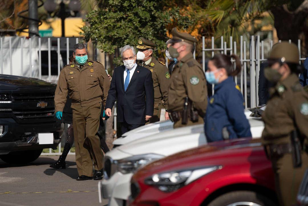 Piñera: «Se permitirá a Carabineros poder almacenar y destruir la droga»