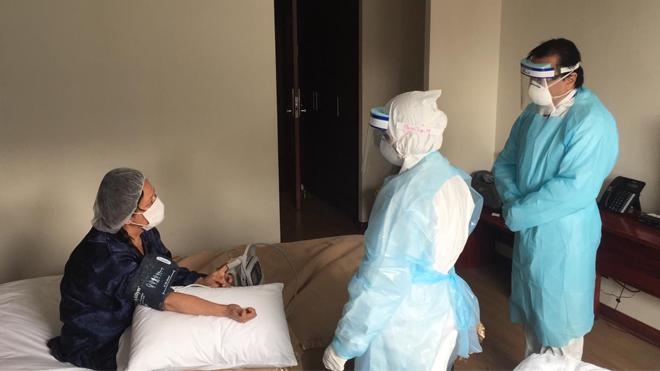 Salud comunal asegura que no hay más camas en Residencias Sanitarias de Los Ángeles