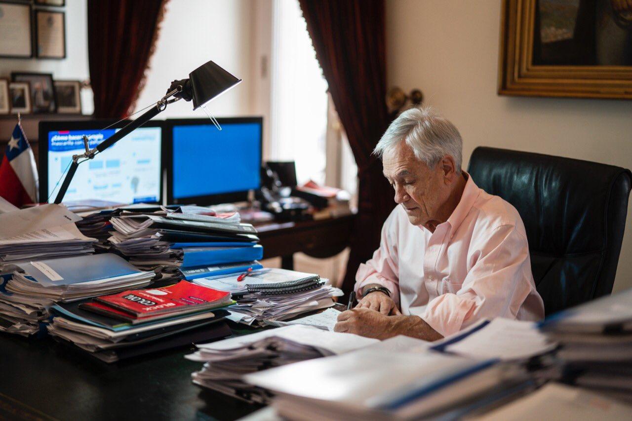 Esta noche Piñera explicará el Plan de Emergencia acordado con la oposición