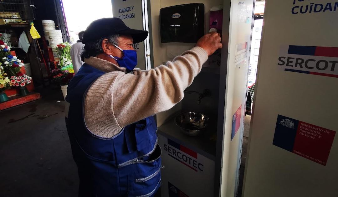Para evitar nuevos brotes: Vega Techada de Los Ángeles recibe kits de sanitización de Sercotec
