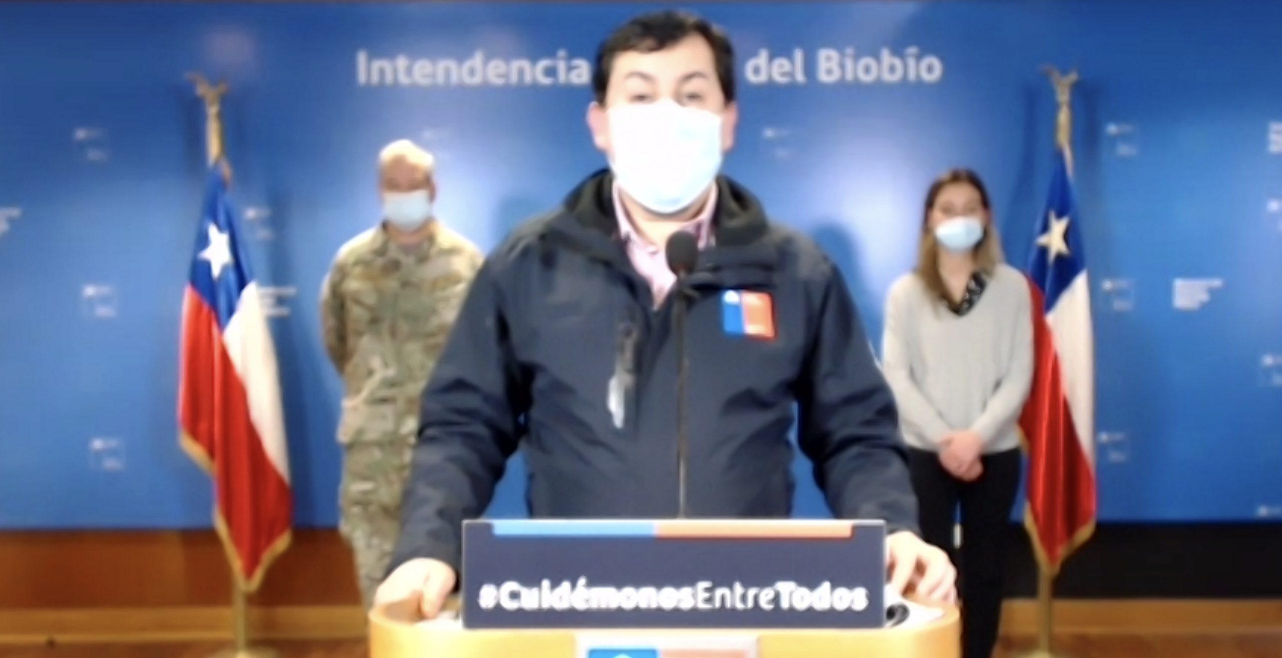 Seremi de Salud del Biobío: «Hay una probabilidad de medidas más estrictas este miércoles»