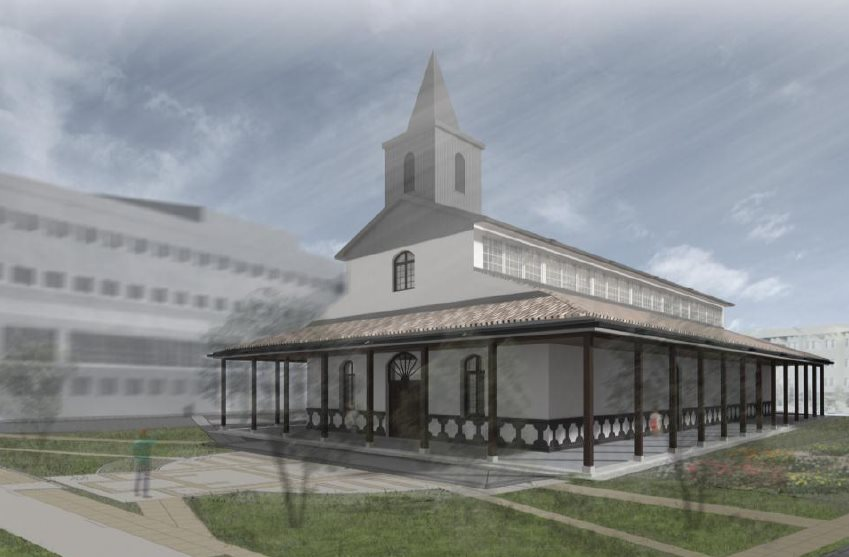 2 mil millones costará la restauración de la Capilla San Sebastián del Hospital de Los Ángeles