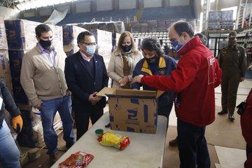 Conoce qué trae la nueva caja de alimentos entregada por el Gobierno