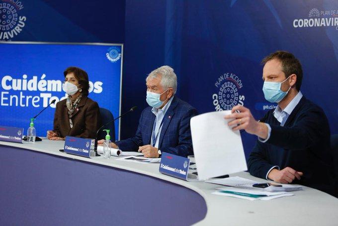 Reportan 2.475 contagios nuevos y 104 muertos por Covid-19 a nivel nacional