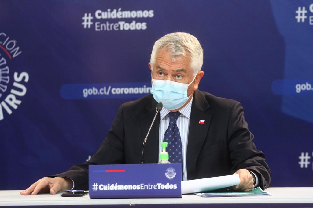 Ministro de Salud: «llevamos 33 días de mejoría, que es una buena noticia»