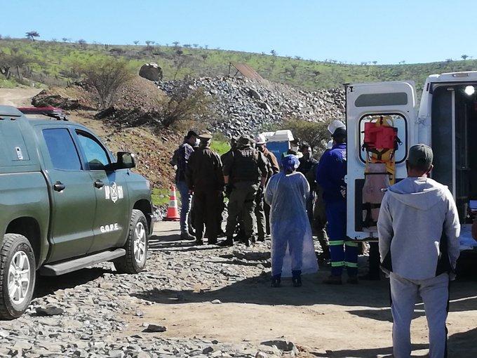 Explosión en mina de región de Coquimbo deja 2 trabajadores muertos