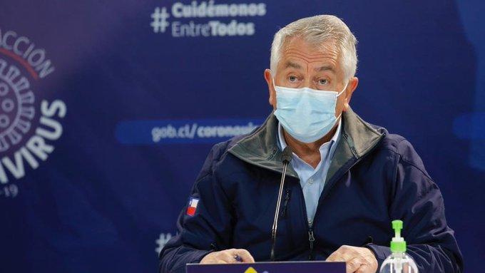 Contagios de Covid-19 en Chile superan los 343 mil y se suman 106 fallecidos