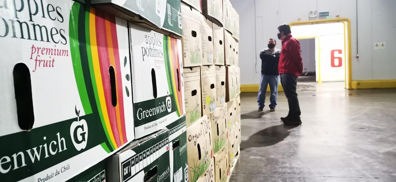 Entregan más de tres mil kilos de manzana a centros de ayuda en Biobío