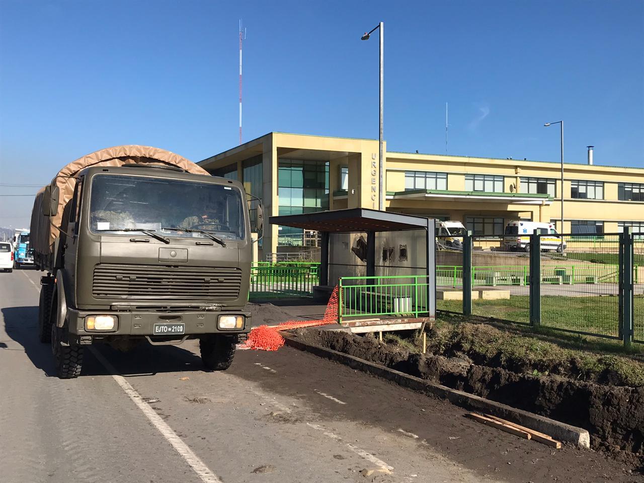 Ejército intensifica patrullaje en la comuna de Laja para evitar contagios