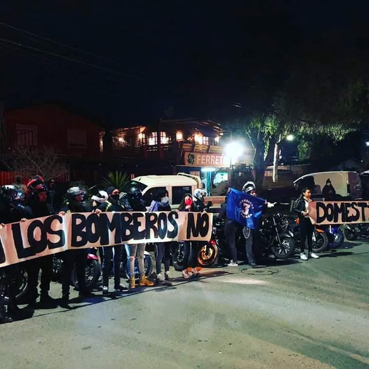 Por robos y amenazas: cierra la Sexta Compañía de Bomberos de San Bernardo