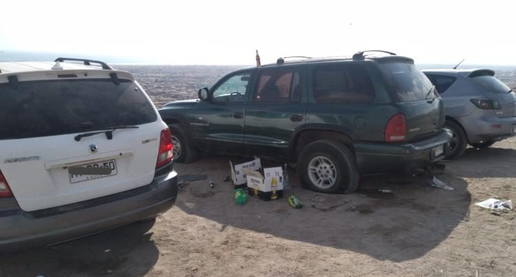 Carrete en cerro de Arica durante cuarentena terminó con 11 detenidos