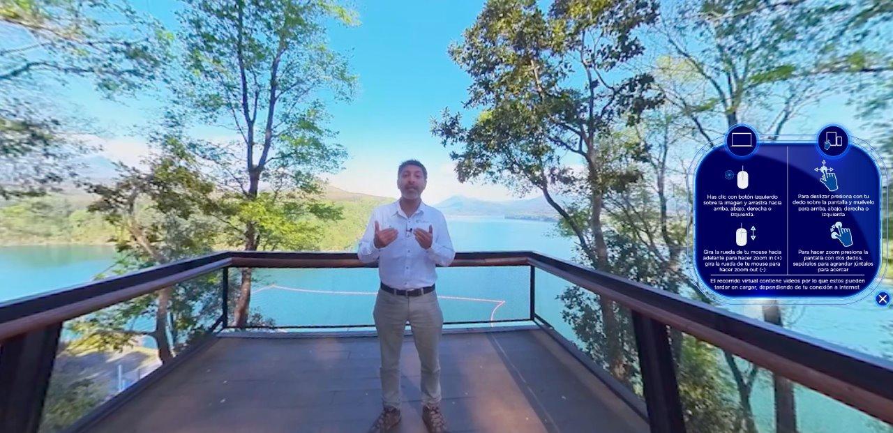 Podrás recorrer la Central y Parque Angostura en viaje virtual de 360º