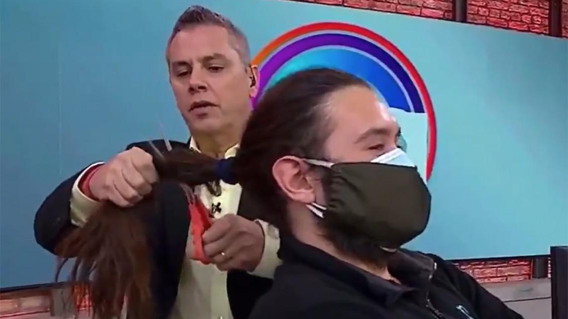 Video: Viñuela recibió lluvia de críticas por cruel «broma» a camarógrafo de Mega