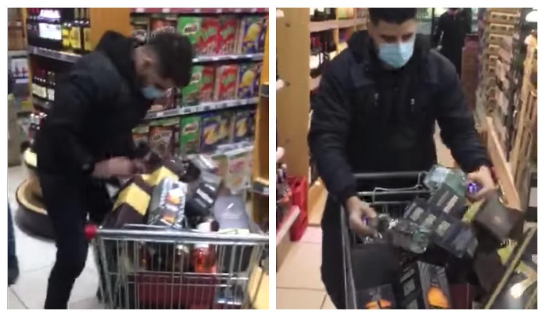 Joven gana «Minuto Feliz» en supermercado y se lleva sólo alcohol en Puerto Natales