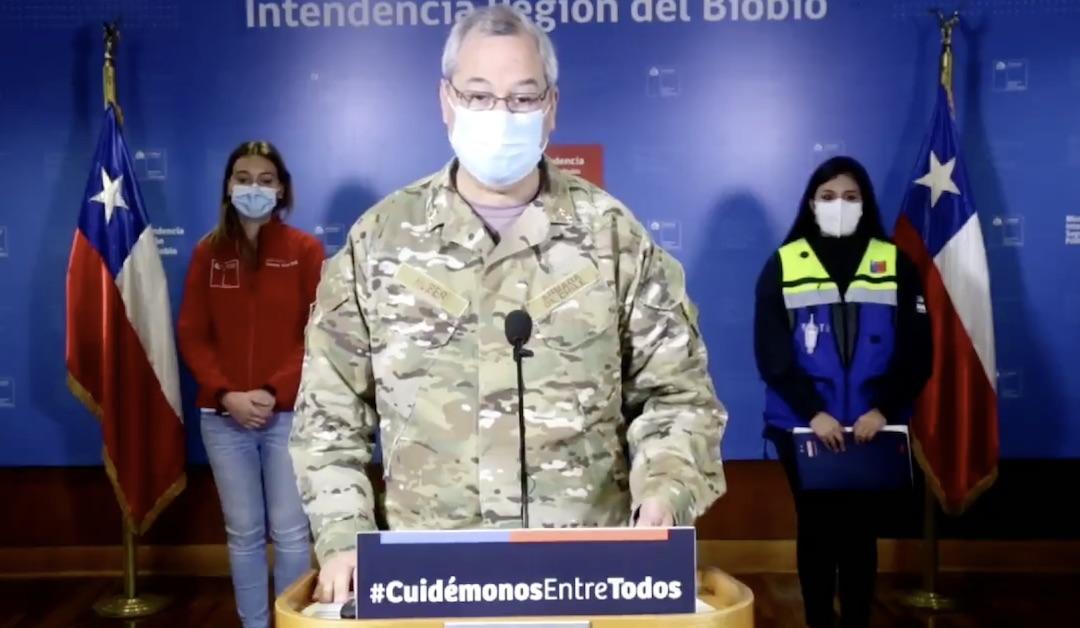 Más de 8 mil personas han sido detenidas en el Biobío desde el inicio del toque de queda