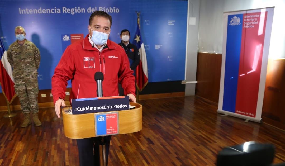 De 149 a sólo 7 casos activos: Anuncian fin al cordón sanitario en Alto Biobío