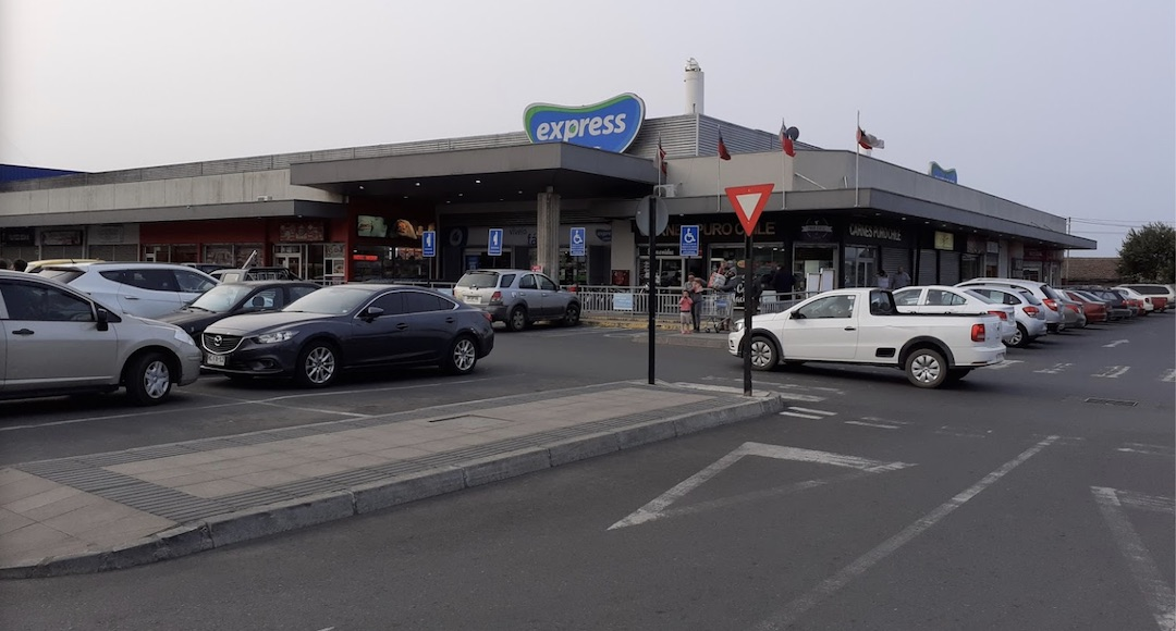 Supermercado Líder Express de Los Ángeles sufre robo a mano armada