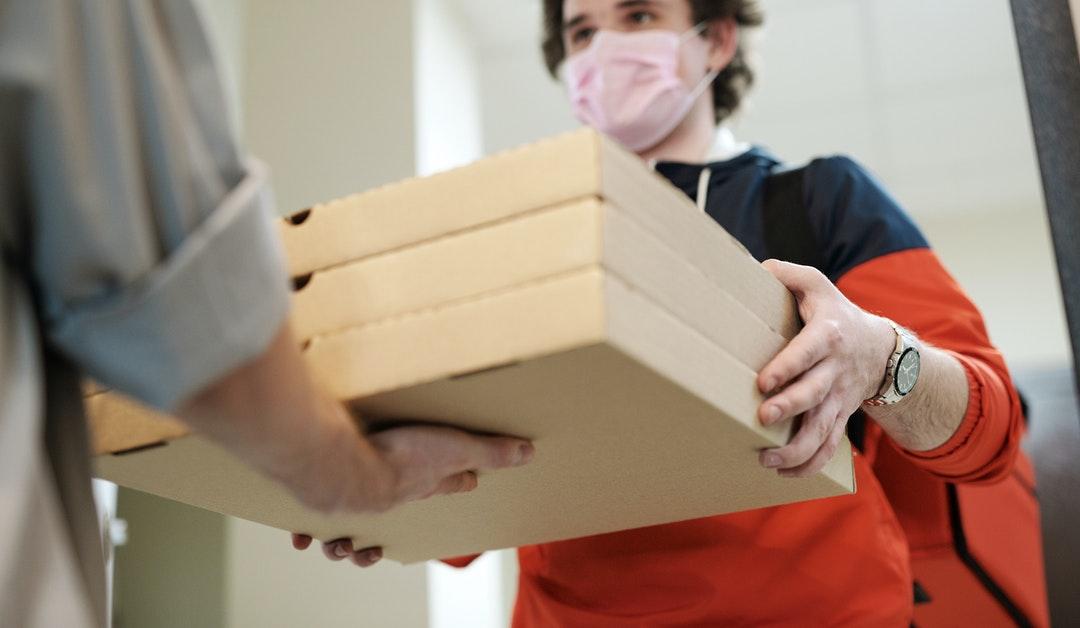 Recomendaciones para evitar el contagio de Covid 19 por comidas a domicilio