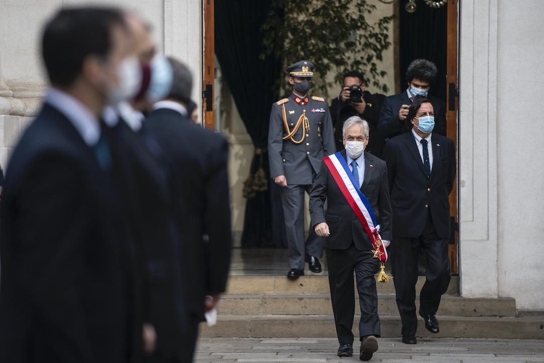 Piñera a minutos de la Cuenta Pública: «Ha sido un año duro»