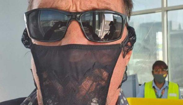 """Anti-virus"": Creador de McAfee es arrestado por usar colaless de mascarilla"