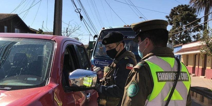 58 detenidos en primeras horas de cuarentena del Gran Concepción