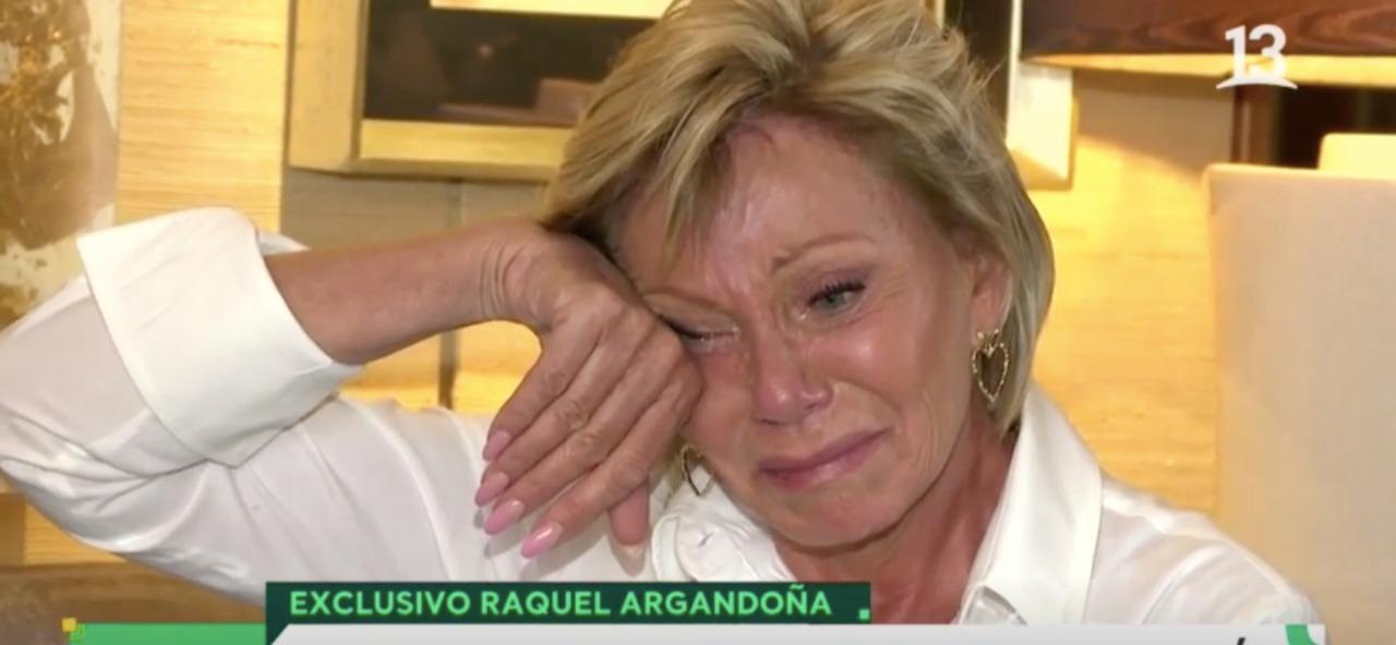 El mea culpa de Raquel Argandoña: «Somos una familia de mie…»